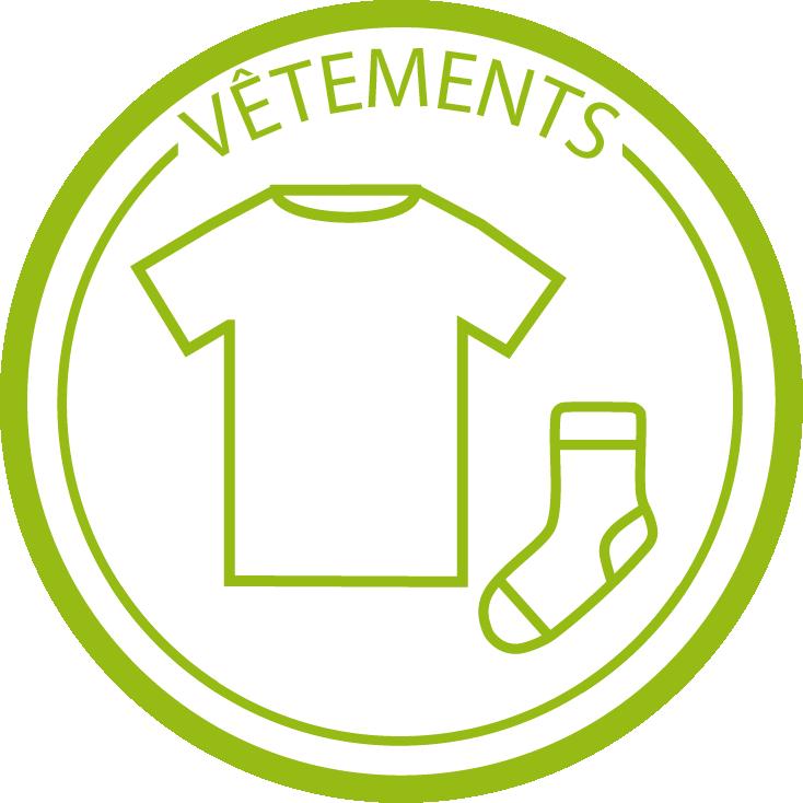 Logo vêtements FR